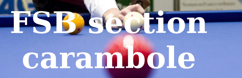 Fédération suisse de Billard section Carambole
